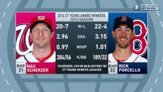 Doug Gottlieb discusses the MLB 2016 Cy Young Award winners and Justin Verlander not winning.