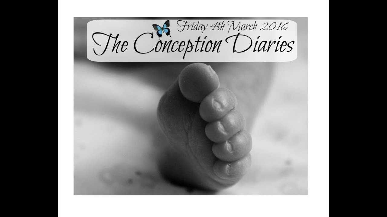 The Conception Diaries 4th March 2016
