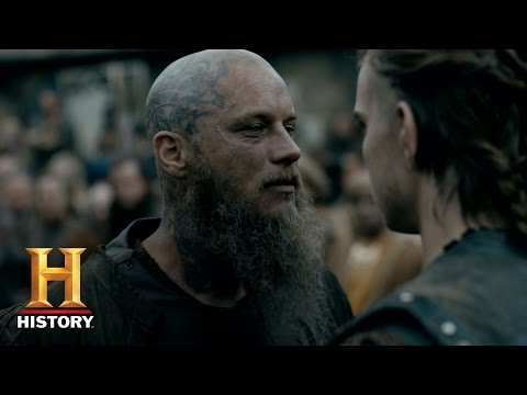 Vikings: Ragnar Challenges His Death (Season 4, Episode 10) | History