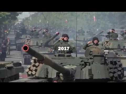 Defilada - Święto Wojska Polskiego 2017
