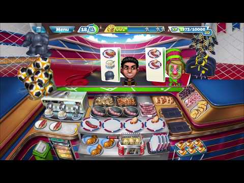 Cooking Fever – Sports Bar Level 40 (3 Stars)