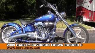 8. Used 2009 Harley Davidson Rocker C Motorcycles for sale