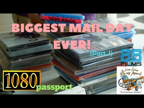 1080passport - Import Blu-ray Unboxing: Biggest Mail Day Ever! [Part 1] (4xblu)