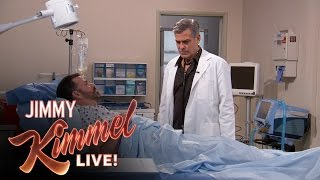 """ER"" Cast Reunion With George Clooney And Jimmy Kimmel"