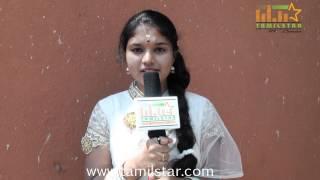 Anu Krishna at Kottampatti Thodakka Palli Movie Launch