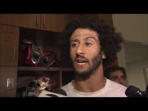 Colin Kaepernick explains why he won't stand during National Anthem