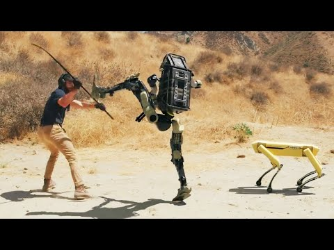 Robot is Being Trained For War & Robot is Fighting Back// Risks of AI