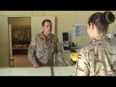 La mochilla de un militar en misiones