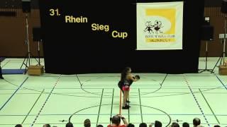 Serena Nicosia - Andreas Meier - 31. Rhein-Sieg-Cup 2013