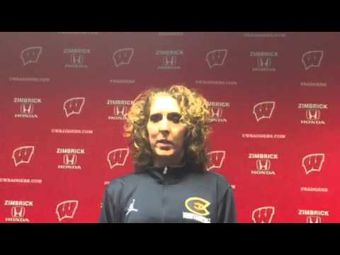 Coach Englund Previews Women's Basketball Exhibition Game against the Badgers!
