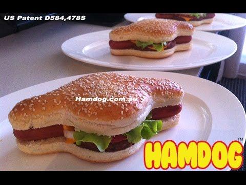 Australian Man Invents Hamdog BurgerHotdog