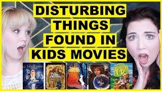 DISTURBING Things We Found In Kids Movies