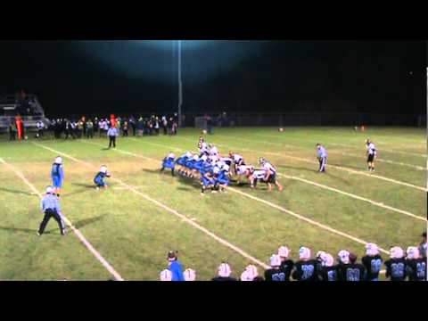 Donnie Manke's Game Winning 52 Yard Field Goal To Defeat Poynette (2011)