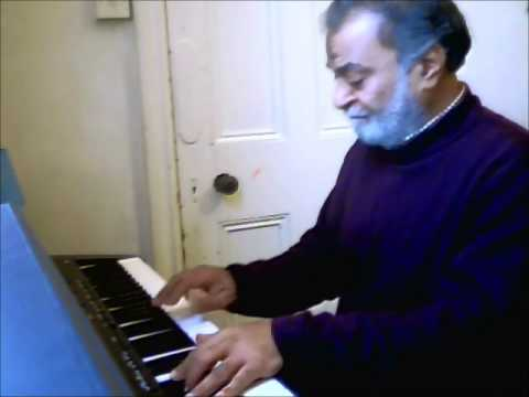 The Legendary One & Only Azhar Hussain Sahab On Keyboard.My Most Respectable Guru.