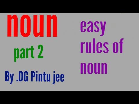 Easy noun part 2 by DG pintu jee
