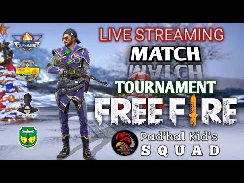LIVE MATCH TORNAMENT FREE FIRE PADKAL KID'S SQUAD PALOPO