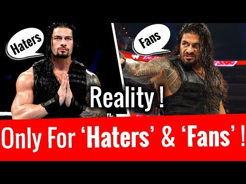Video Only For Roman Reigns 'Haters' & 'Fans' ! download in MP3, 3GP, MP4, WEBM, AVI, FLV January 2017