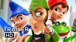 Nonton Sherlock Gnomes Official Trailer  2  2018  Johnny Depp  Emily Blunt Animated Movie Hd Film Subtitle Indonesia Streaming Movie Download