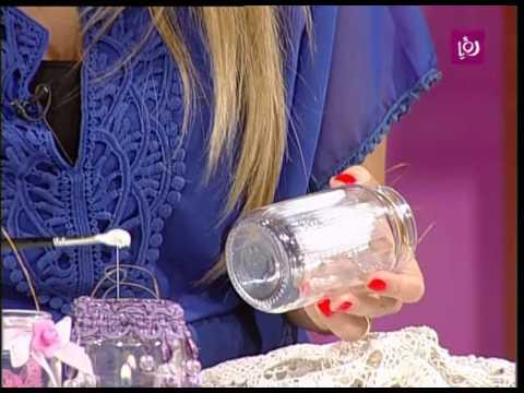 فاي سابا تصنع زينة مع المرطبان | Roya