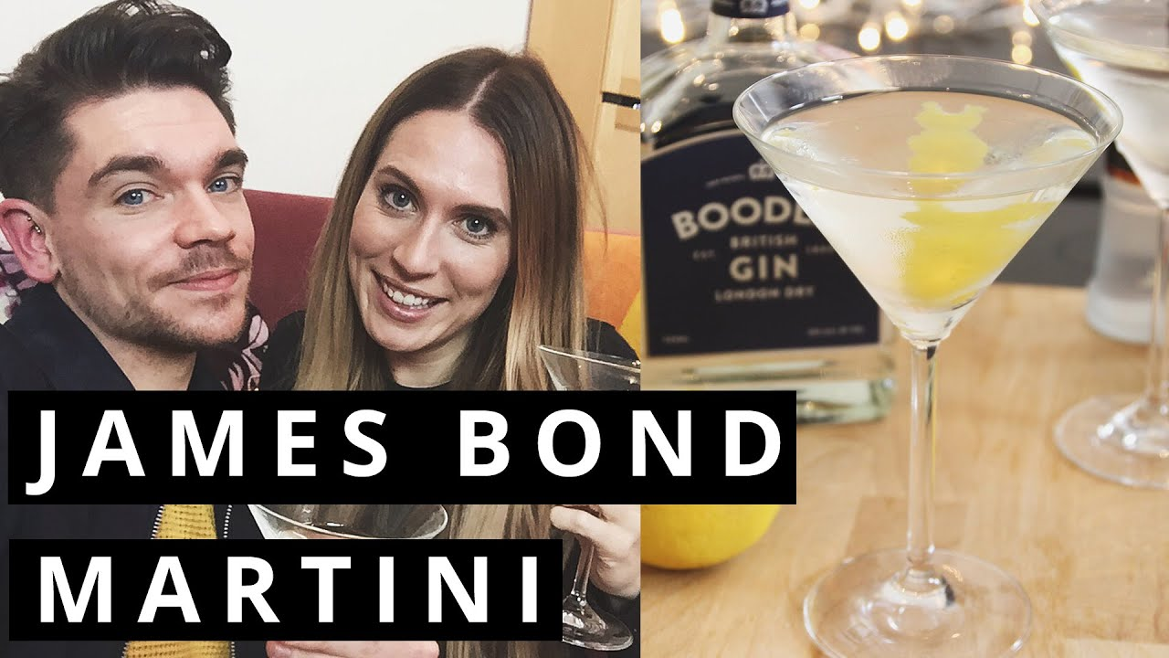 Vesper Martini | With Talk Becky Talk