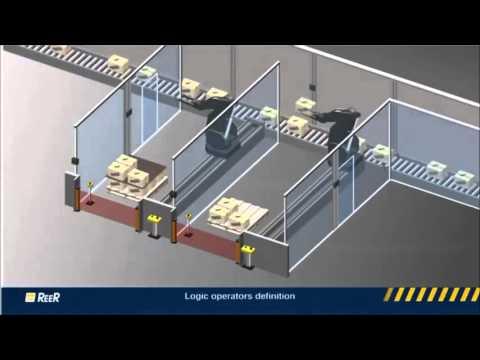 בקר בטיחות בר תכנות מסדרת MOSIAC מבית REER
