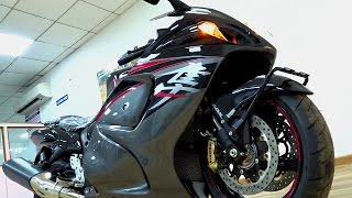 9. Suzuki Hayabusa Black Walkaround Review #Bikes@Dinos