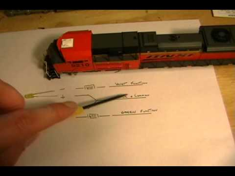 03-20-2011 Advanced DCC - Part 11B Digitrax Sound Decoder Install into an Athearn SD70ACe