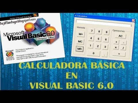Calculadora en Visual Basic 6.0 [HD]