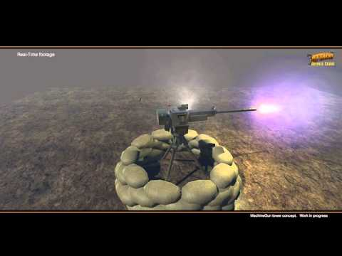 Defense Crane demo