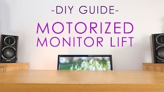 In this video we'll be building a motorized lift for your desk setup, all on a tight budget!Try out AudioBlocks: http://audioblocks.com/DIYPerks_0417This build uses commonly available parts to keep the overall cost low. Here are links to them:Motor: http://rover.ebay.com/rover/1/711-53200-19255-0/1?icep_ff3=2&pub=5575117832&toolid=10001&campid=5337657473&customid=&icep_item=252034388006&ipn=psmain&icep_vectorid=229466&kwid=902099&mtid=824&kw=lgBracket for motor: http://rover.ebay.com/rover/1/711-53200-19255-0/1?icep_ff3=2&pub=5575117832&toolid=10001&campid=5337657473&customid=&icep_item=121954717123&ipn=psmain&icep_vectorid=229466&kwid=902099&mtid=824&kw=lgPulley for motor: http://rover.ebay.com/rover/1/711-53200-19255-0/1?icep_ff3=9&pub=5575117832&toolid=10001&campid=5337657473&customid=&icep_uq=20t+gt2+5mm+8mm+pulley&icep_sellerId=&icep_ex_kw=&icep_sortBy=15&icep_catId=&icep_minPrice=&icep_maxPrice=&ipn=psmain&icep_vectorid=229466&kwid=902099&mtid=824&kw=lgSmooth Idler Pulleys: http://rover.ebay.com/rover/1/711-53200-19255-0/1?icep_ff3=2&pub=5575117832&toolid=10001&campid=5337657473&customid=&icep_item=222117472564&ipn=psmain&icep_vectorid=229466&kwid=902099&mtid=824&kw=lgPulleys for threaded bar: http://rover.ebay.com/rover/1/711-53200-19255-0/1?icep_ff3=9&pub=5575117832&toolid=10001&campid=5337657473&customid=&icep_uq=2pcs+gt2+40+teeth+12mm+bore&icep_sellerId=&icep_ex_kw=&icep_sortBy=15&icep_catId=&icep_minPrice=&icep_maxPrice=&ipn=psmain&icep_vectorid=229466&kwid=902099&mtid=824&kw=lgTiming Belt: http://rover.ebay.com/rover/1/711-53200-19255-0/1?icep_ff3=9&pub=5575117832&toolid=10001&campid=5337657473&customid=&icep_uq=gt2+timing+belt+5m&icep_sellerId=&icep_ex_kw=&icep_sortBy=15&icep_catId=&icep_minPrice=&icep_maxPrice=&ipn=psmain&icep_vectorid=229466&kwid=902099&mtid=824&kw=lgThreaded Bar (this one is UK only): http://rover.ebay.com/rover/1/710-53481-19255-0/1?icep_ff3=2&pub=5575117832&toolid=10001&campid=5337657473&customid=&icep_item=111652353666&ipn=psmain&icep_vectorid=229508&kwid=902099&mtid=824&kw=lgLocking Nuts: http://rover.ebay.com/rover/1/711-53200-19255-0/1?icep_ff3=2&pub=5575117832&toolid=10001&campid=5337657473&customid=&icep_item=182361968986&ipn=psmain&icep_vectorid=229466&kwid=902099&mtid=824&kw=lgCaptive T Nuts, also called 'blind nuts': http://rover.ebay.com/rover/1/711-53200-19255-0/1?icep_ff3=2&pub=5575117832&toolid=10001&campid=5337657473&customid=&icep_item=381710071747&ipn=psmain&icep_vectorid=229466&kwid=902099&mtid=824&kw=lgSwitch: http://rover.ebay.com/rover/1/711-53200-19255-0/1?icep_ff3=2&pub=5575117832&toolid=10001&campid=5337657473&customid=&icep_item=282417921103&ipn=psmain&icep_vectorid=229466&kwid=902099&mtid=824&kw=lgHere are some of my favorite AudioBlocks tracks:Old Time Memories - http://bit.ly/2oQMDE6Action Movie Music Score - http://bit.ly/2oJ0YpeRocking with Lizzy - http://bit.ly/2oadEUJJohnny the Pale Rider - http://bit.ly/2oQBTWlWonder River - http://bit.ly/2oa8BnbSchematic and wiring will be added later.Tags: monitor, lift, desk, pc, setup, tv, diy, build, make, pin, how to, mechanism, motorized, project, electronics, guide, matthew perks, diy perks