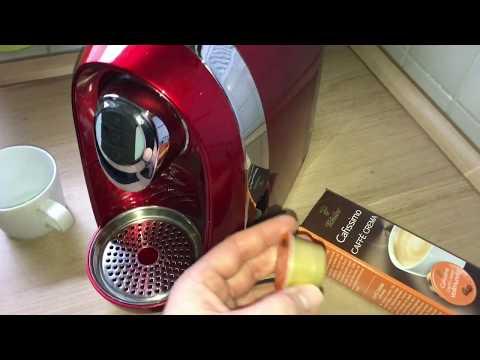 Tchibo Cafissimo benutzen Café machen Caffe Crema zubereiten Anleitung