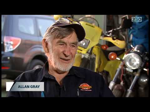 Allan Gray 7.30 ABC Interview (видео)