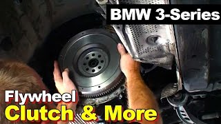 Video 1998 BMW E36 3-series Clutch Dual Mass to Single Mass Flywheel Rear Main Seal Exhaust & Driveshaft MP3, 3GP, MP4, WEBM, AVI, FLV Juni 2018