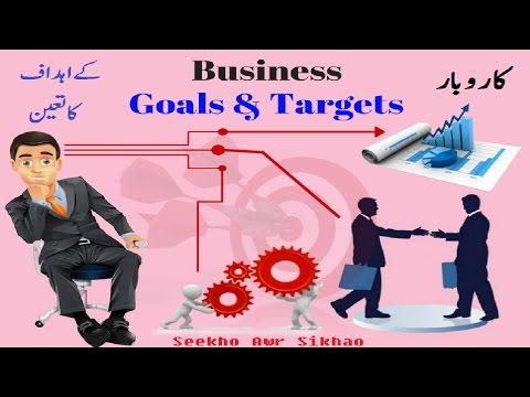 Business Goals And Targets | New Business guide in Urdu \Hindi |  New Business Ideas 2017