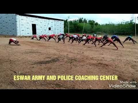 Eswar Army Training