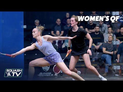 AJ Bell National Squash Championships 2020 -  Women's QF Highlights