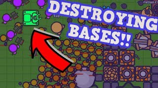 Zombs.io Harvester Trolling and Funny Moments!! Try this New Resource Harvester Tower troll if you want everyone to hate you.