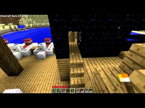 preview-Let\'s Play Minecraft Beta! - 070 - Main Cannon testing and C4 Excavation! (ctye85)