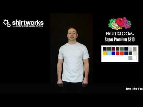 Fruit of the Loom Super Premium T-Shirt SS10