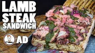 LAMB STEAK SANDWICH | with Adam Waithe by Food Busker