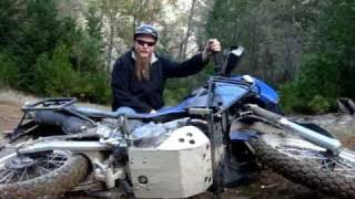 9. How to Pick up Your KLR 650.