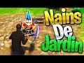 DÉFIS   TROUVER les NAINS de JARDIN sur FORTNITE Battle Royale !!