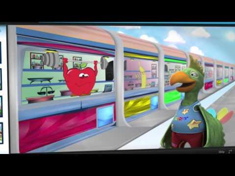 אופירה לוי-סדרת אנימציה לילדים