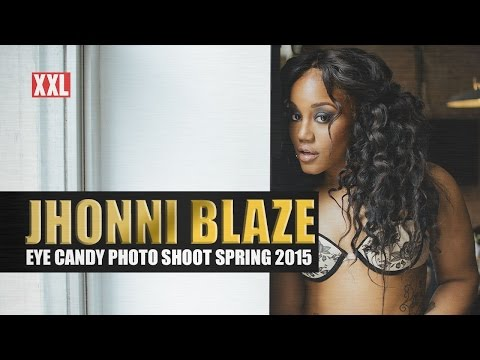 Behind-The-Scenes: @JHONNIBLAZE @XXL Eye Candy Shoot Spring #2015