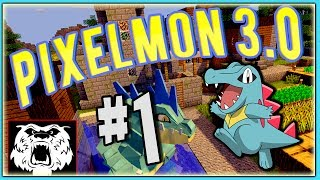Minecraft: Pixelmon 3.0.4 - Ep 1 - I Choose You! (HD)