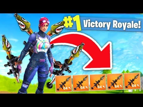 The Penta Rpg Strategy! *new* High Explosives Gamemode! (fortnite Battle Royale)