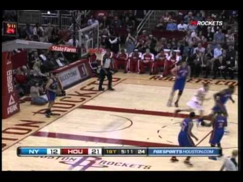 Kyle Lowry throws long alleyoop to Kevin Martin vs. Knicks