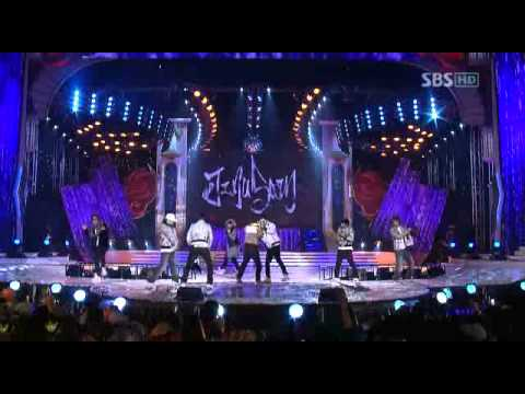 Bigbang – 071229 SBS Music Awards – YG Family {BB+1TYM+JS+SE7EN+CL}