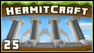 HermitCraft 4: Starting The Massive Courthouse Build And Diamonds!