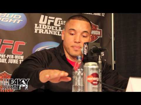 UFC 115 Pre Fight Press Conference Highlights  Liddell v Franklin